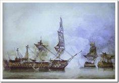 Batalla de Trafalgar,por Constable