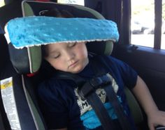 Head pillow support band/ toddlers car seat/ Works por NoNoDs