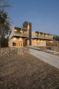 PV14 Container House on White Rock Lake in Dallas