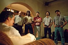 """'Narcos' Season 2, Episode 6: A New World Order -The streets are running red with blood since the arrival of Los Pepes (a close enough acronym for """"People Persecuted by Pablo Escobar""""), a mysterious assassination squad that's been making ghoulish displays out of murdered Escobar associates. When word circulates that the Castaño brothers are involved in the killings, Colonel Martínez briefs President Gaviria about the dangers of the far-right paramilitary group blasting its way through the…"""