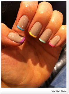 What's Up Whimsy!: Funky Nails