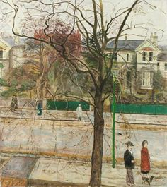 Carel Weight: Life in Putney, 1956.