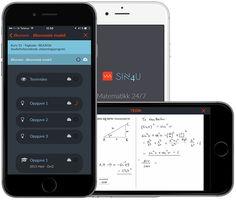 Sinus4U inneholder alle matematikkkfagene på videregående skole: 1P, 2P, S1, S2, 1T, R1 og R2. Alle kurs inneholder: TEORI – OPPGAVER – EKSAMENSOPPGAVER