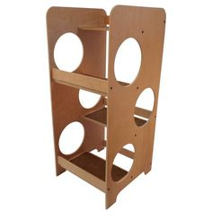 Sturdy Cat Tree Tower, solid (unfinished) birch plywood, with four carpeted climbing platforms. * New and awesome product awaits you, Read it now (This is an affiliate link and I receive a commission for the sales) : Cat Condo Tree Tower