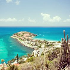 Make sure to climb Mount Concordia during your trip to Sint Maarten for gorgeous views.