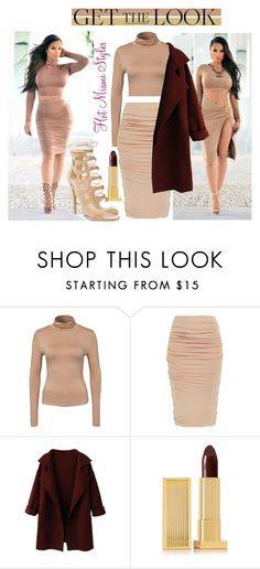 """GET THE LOOK"" by dopegeezy ❤ liked on Polyvore featuring New Look and Lipstick Queen"