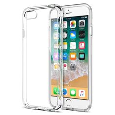 The iSOUL Protective Clear Case for Apple iPhone 8 Plus can satisfy your need with the perfect protection. This transparent phone case is made out of a tough impact absorbing silicone soft gel material. A simple yet classy phone cover has a premium finish that provides total visual transparency to your device. Features:Ultimate Protection - This iPhone 8 plus transparent thin TPU case is flexible but impact-absorbing like a hard case.Designed for Apple iPhone 8 Plus - This case featuring cutouts Apple Iphone 5, Best Iphone, Nutrition Education, Coque Iphone, Iphone Se, Iphone 8 Plus, Iphone Deals, Iphone Hacks, Bath And Beyond Coupon