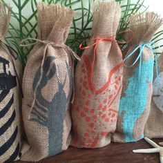 Colorful wine bags for any occasion!