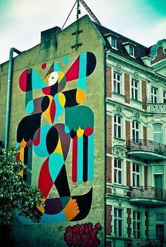REMED's gorgeous graffiti #street art