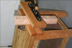 Build your own woodworking bench