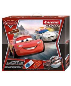 "CARRERA 62277 DISNEY/PIXAR CARS ""LONDON RACE AND CHASE"" SET"