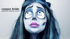 Corpse Halloween Makeup Corpse Bride Emily Halloween Makeup Tutorial Jen Pike