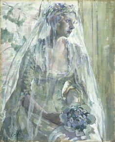 "colourthysoul: "" Ethel Leontine Gabain - The little Bride (1934) """