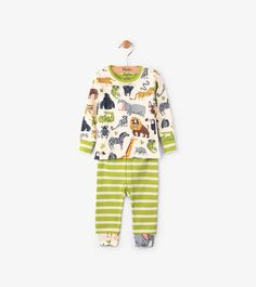 2e94778b9 Hatley Safari Adventure Organic Cotton Baby Pajama Set - 12-18M Hatley  Pajamas, Safari