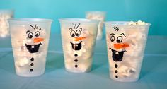 Fun Suggestions for Frozen Birthday Olaf Party, Frozen Themed Birthday Party, Elsa Birthday, Disney Frozen Birthday, Birthday Fun, Birthday Parties, Birthday Ideas, Anna Frozen, Frozen Pop
