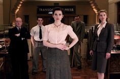 Hayley Atwell as Eva leads the British team in 'Restless' . Life Of Crime, Hayley Atwell, Agent Carter, Bradley Cooper, Bbc, Glamour, Stylish, My Love, Outfits