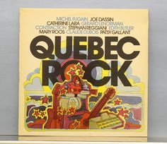 Various - Quebec Rock - Columbia - Canada, 1974 Lp Cover, Cover Art, Quebec, Columbia, Canada, Rock, Vintage, Skirt, Colombia