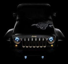 """Este é o """"Ano do Dragão"""" na China e a Jeep lançou uma edição super especial do Wrangler, toda customizada!  EU QUERO!"""