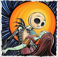 Jack And Sally Nightmare Before Christmas Sally Nightmare Before Christmas, Tim Burton, Disney Love, Disney Art, Jack Und Sally, Jack The Pumpkin King, Muse, Corpse Bride, Posca