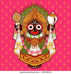 Jagannath, Indian Lord of the Universe