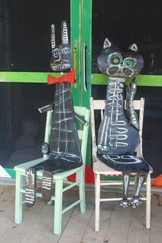Homage Chairs.... Luon St. Pierre. I just love Luon's work. Just fabulous.....