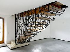 Incredible stairs.