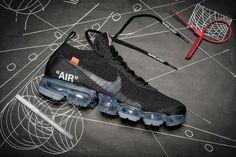 버질 아블로 x 나이키 2018 검은색 베이퍼맥스 유출 Nike Shoes Outlet, Kicks Shoes, Men's Shoes, Sneakers Nike, Running Shoes, Nike Air Vapormax, Fashion Shoes, Swag Fashion, Milan Fashion