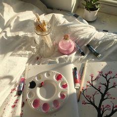My aesthetic is art hoe what's yours? Art Hoe Aesthetic, Pink Aesthetic, Aesthetic Drawing, Arte Peculiar, Aesthetic Pictures, Aesthetic Wallpapers, Art Inspo, Artsy, Drawings
