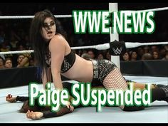 WWE NEWS: Paige SUspended For Drug Policy The WWE suspended WWE womens superstar Paige and her boyfriend and former world champion Alberto Del Rio for failing the company drug tests back in August. According to Paige the suspension came because she wasnt able to get to the testing on time because she was out of state. The WWE just suspended Paige for a second violation today and ESPN reported that her father has leaped into the controversy.  Paige is from a wrestling family from the U.K. and…