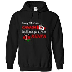 Kenya-Canada - #button up shirt #tshirt pattern. THE BEST => https://www.sunfrog.com/LifeStyle/Kenya-Canada-ltpju-Black-Hoodie.html?68278