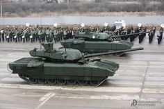 Victory Day Parade rehearsal in detail