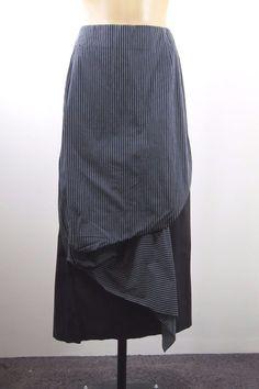 Size S 10 OBI Ladies Black Skirt Pencil Business Office Cocktail Maxi Chic Style #Obi #Maxi
