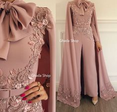 2019 New Arrival Fashion Rompers Dusty Pink Luxury Beaded Lace Evening Dress Panty Formal Dresses 2019 New Arrival Fashion Romper Dusty Pink Luxury Beaded Lace Evening Dress Panty Evening Dresses Sexy Formal Dresses, Prom Dresses Long With Sleeves, Cheap Evening Dresses, Mermaid Evening Dresses, Evening Gowns, Evening Party, Dress Long, Formal Wear, Jumpsuit Prom Dress