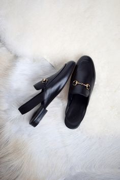 Dream shoes are finally mine!! The Gucci horsebit slingback loafers!