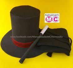 Sombrero de fomi para mago Sombreros Locos db55098d95d