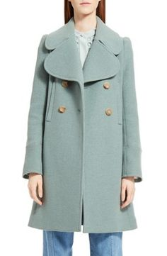 d01a50b8789 Habitually Chic® » Vintage Fashion Treasures from EBTH Winter Coat, Green  Trench Coat