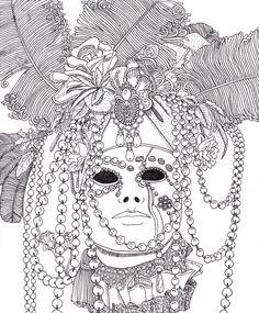 Maska by Lorrain http://kleurvitality.blogspot.be