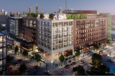 Westside Atlanta project could bring hotel, offices, residences to already traffic-y area - Curbed Atlanta 1940s Bungalow, Urban Design Concept, Mixed Use, Facade Design, New City, Atlanta, The Neighbourhood, Real Estate, Exterior