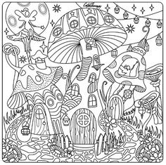770 Free Printable Mushroom Coloring Pages For Adults Download Free Images