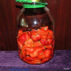 Moje Małe Czarowanie: Nalewka truskawkowa z korzeniami