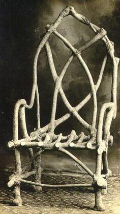 The most famous grown chair - John Krubsack 1908