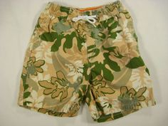 Baby Boy Gymboree 18-24 Months Shorts Everglades Khaki Green White  #Gymboree #Shorts #Everyday