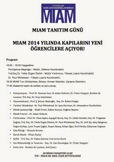 Klasik Müzik İstanbul: MIAM Tanıtım Günü - Nisan 2014