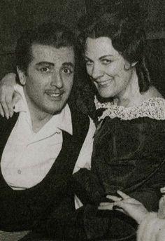 Franco Corelli and Renata Tebaldi in Puccini's La Boheme
