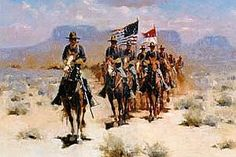 Old West Cavalry Uniforms | On The Trail To The Cavalry Outpost