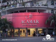 #infoacapulco Acamar es uno de los mejores hoteles de Acapulco. INFO ACAPULCO. Uno de los mejores hoteles de Acapulco es el Acamar, el cual se encuentra a un costado de la playa Caleta, por lo cual cuenta con un área de la misma con servicio y sombrillas para sus huéspedes, así como una ubicación cerca de atractivos como el centro histórico. Obtén más información en la página oficial de Fidetur Acapulco.