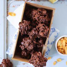Rezept für selbstgemachte Schokocrossies mit Erdnussbutter chocolate stacks recipe erdnuss rezept zuckerzimtundliebe foodblog backblog foodstyling food photography schokolade schokoladenrezepte