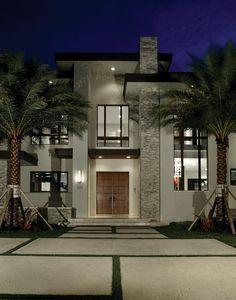 Villa moderna di lusso progettata da Barron Devolopment