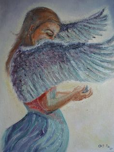 Angel Oil Paintings | Angel Oil Painting | Flickr - Photo Sharing!