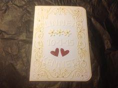 Bryllups-kort
